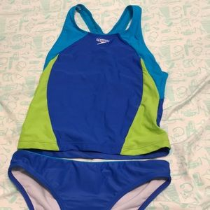 Speedo child's two piece swimsuit